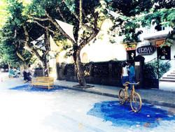 1988_El viaje. Calle del Parque (Huesca)