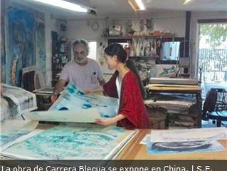 La obra de Carrera Blecua se expone en Pekin.
