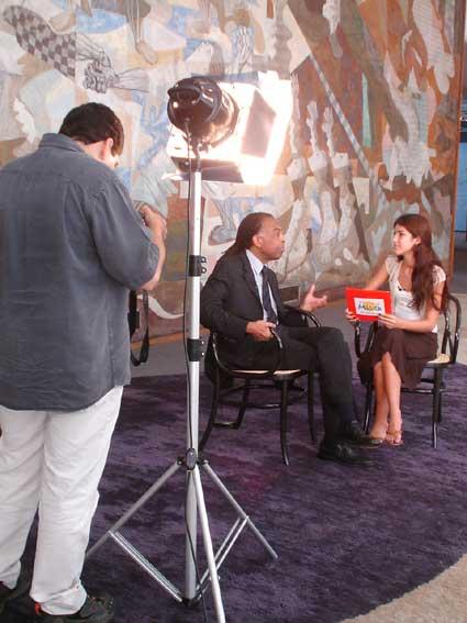 Produção pra entrevista:Gilberto Gil