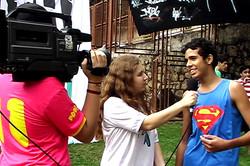 Jovens protagonistas do projeto