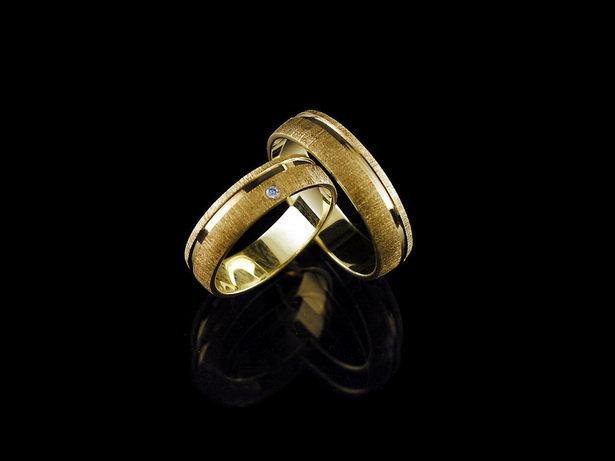 Obrączki ślubne złote 14K