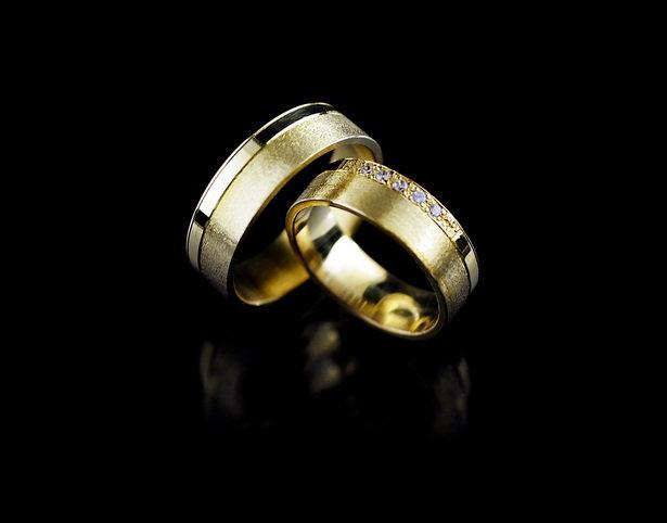 Obrączki ślubne złote pr.585