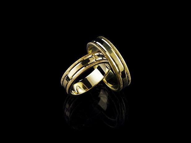 Obrączki ślubne złoto pr.585 PARA