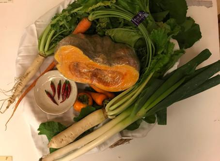 第17回更科蕎麦と江戸東京野菜を味わう会