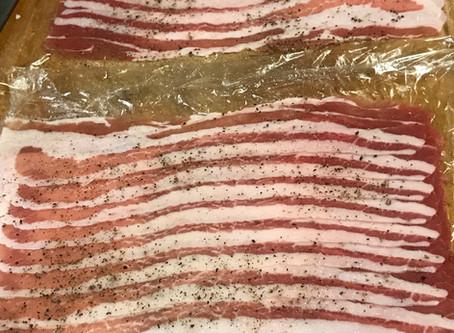 薄切りバラ肉のトンカツ