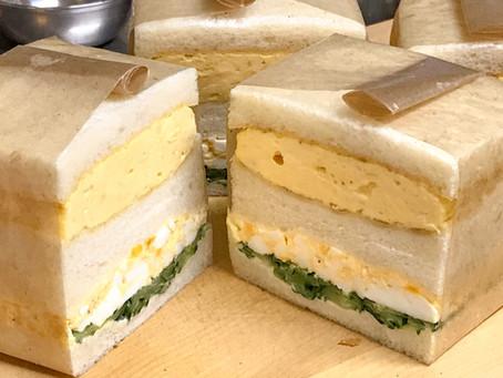 2種類の卵サンド