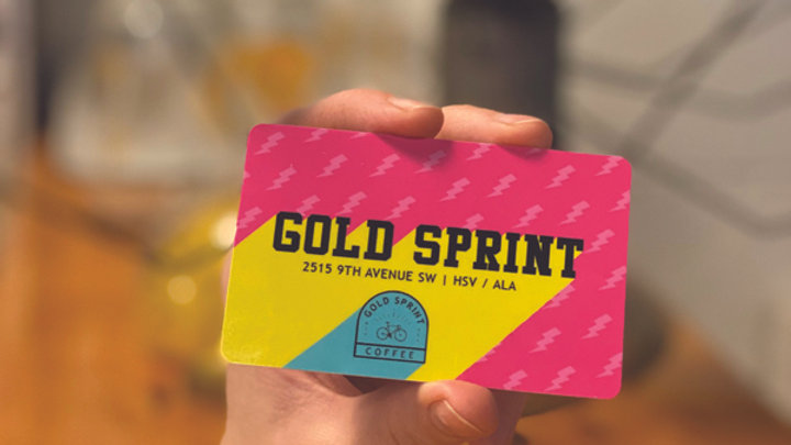 Gold Sprint Gift Card