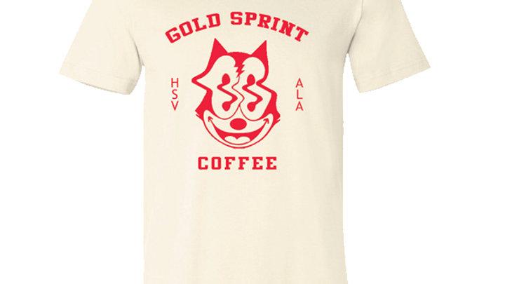 Gold Sprint Cat Shirt Natural