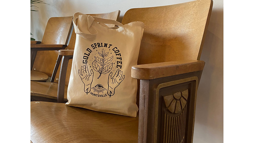 COFFEE HANDS TOTE BAG