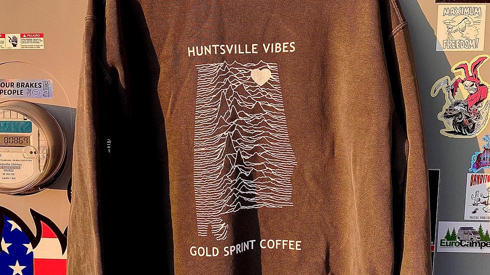 Huntsville Vibes Comfort Wash Crewneck