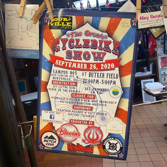Gold Sprint + The Great Cyclebike Show + Tour De Ville @ Campus 805