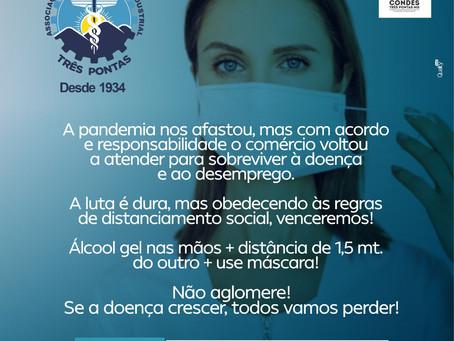 #COVID-19 - NÃO VAMOS BAIXAR A GUARDA!