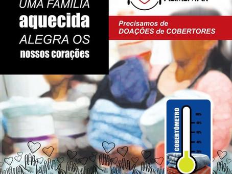 """Campanha """"COBERTORES DO BEM"""""""
