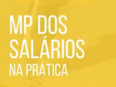 Como resolver as questões de salários dos colaboradores com base na MP 936/2020 ?