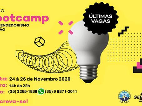 Parceria entre SEBRAE e ACAITP promove BOOTCAMP em Três Pontas - MG !