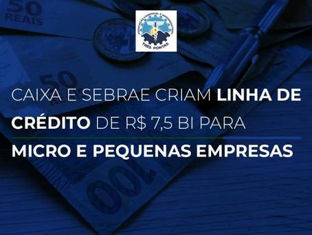 Linha de Crédito para Micro, Pequenas empresas e Microempreendedores Individuais (MEI.)