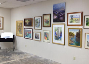 "Dunwoody Fine Art Month: ""Pop Up"" Gallery in  Dunwoody Village Shopping Center"
