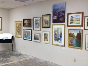 "Dunwoody Fine Art Month: ""Pop Up"" Gallery in  Dunwoody Village Shopping Center"
