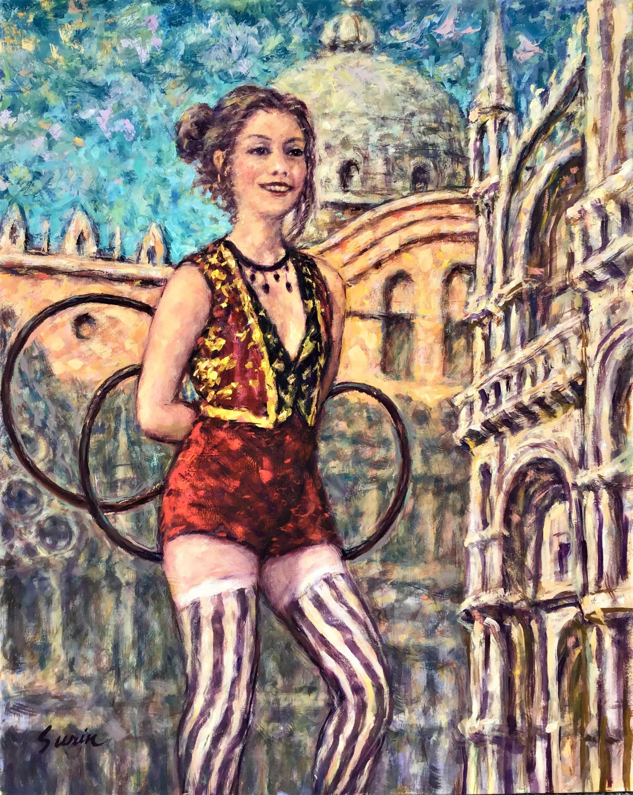 Circus Girl in Venice