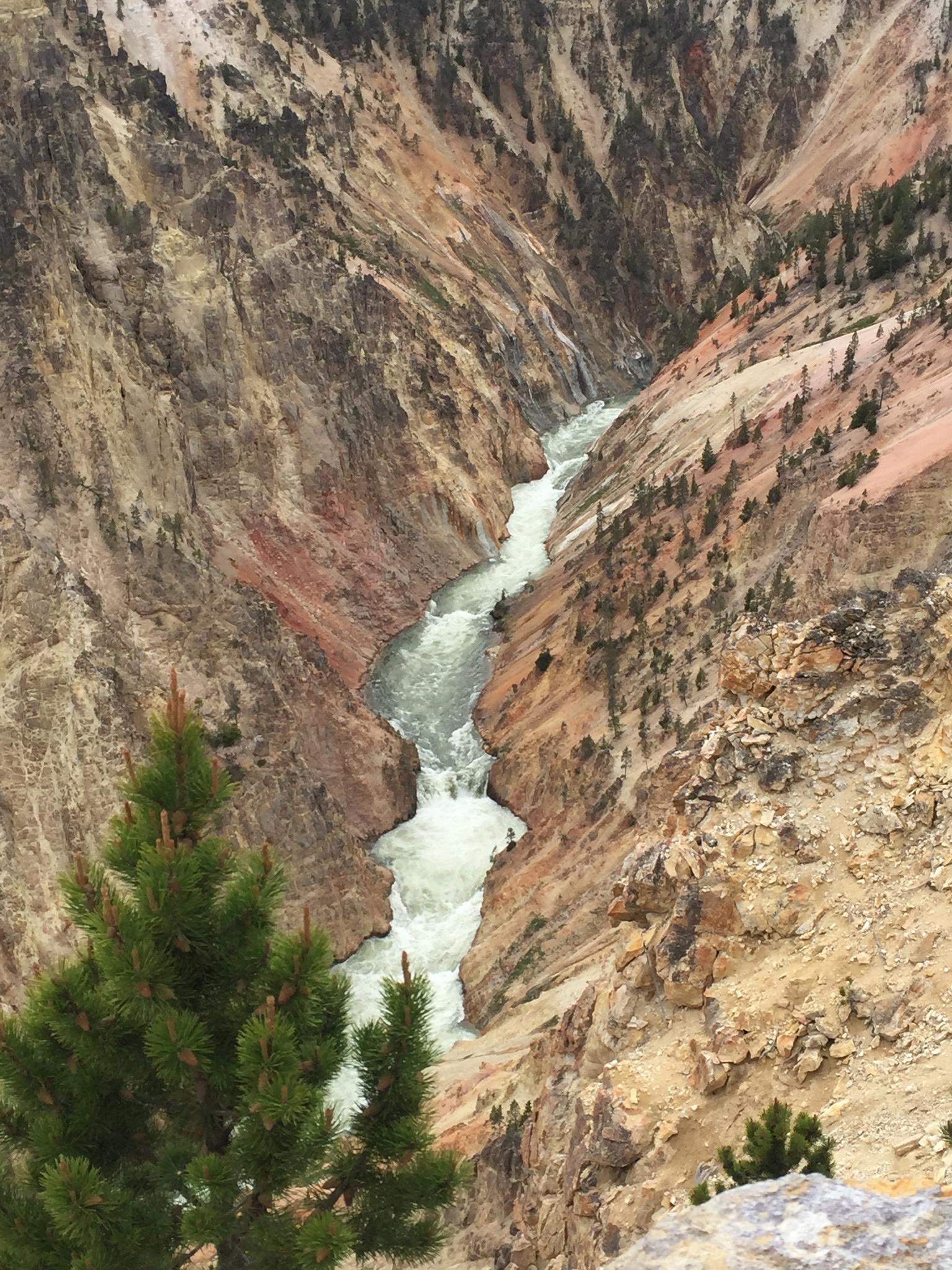 Upper Fall, Artist Point Yellowstone