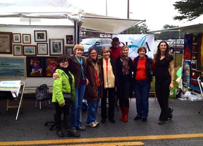 DFAA Artists Accepted into the Brookhaven Arts Festival