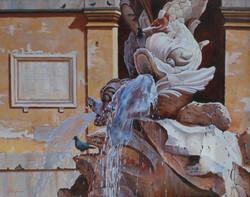Ancient Italian Fountain