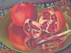 Pomegranate Pair