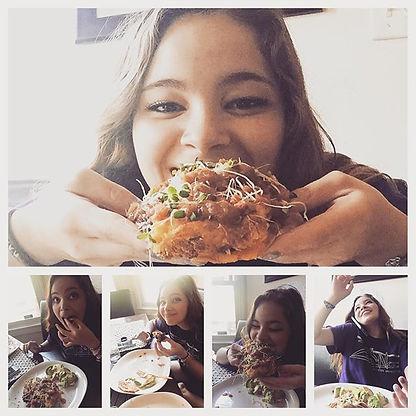 #myjewels #loves #homemade #organic #tacos #lovehersomuch #goodness #best #allorganic #fee