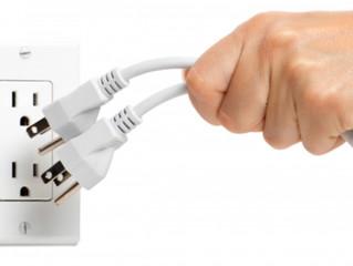 Overloaded = Overwhelmed. Unplug. BE KIND TO YOUR MIND