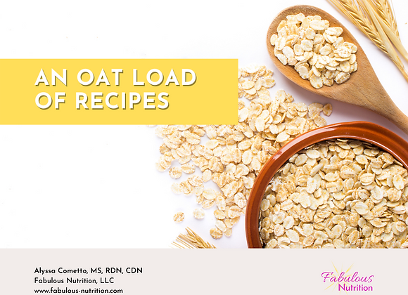 An Oat Load of Recipes