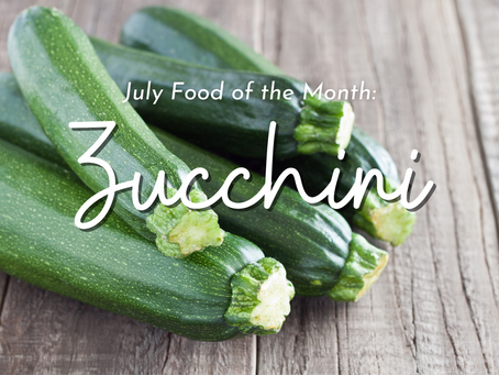 Zucchini: A Simple Food with a lot of Possibilities