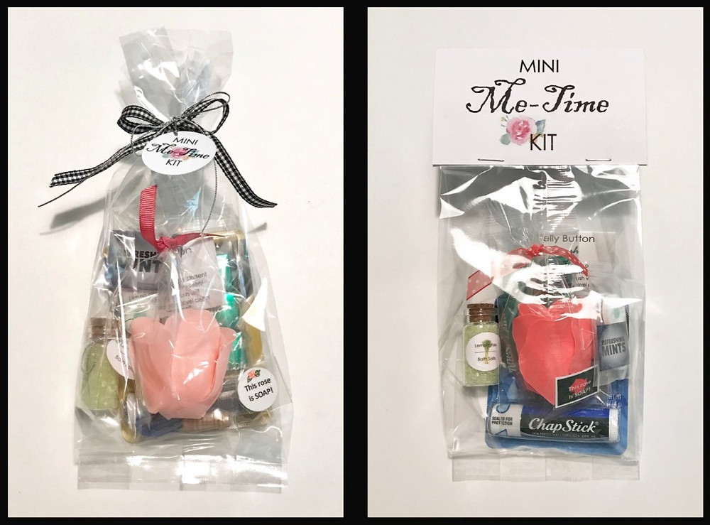 Mini Me-Time Bags / ABC Book to Make at a Baby Shower / www.HoneycombOasis.com