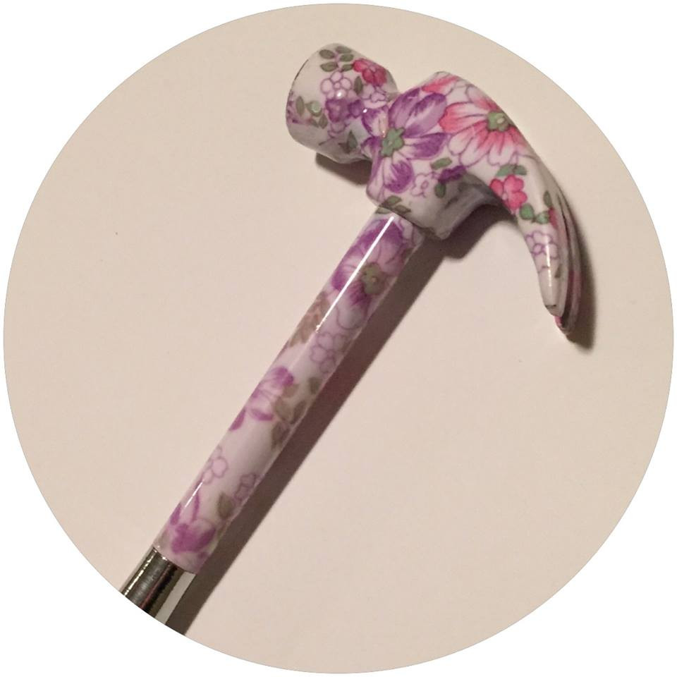 Rose hammer  / A Dozen Rosey Life Lessons / www.HoneycombOasis.com