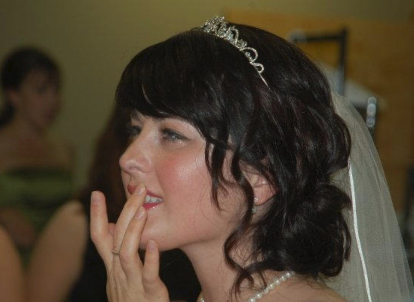 Tasha on her Wedding Day / Are You a Princess? / www.HoneycombOasis.com