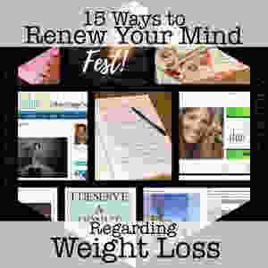 Hexagon pic for 15 Ways to Renew Your Mind Regarding Weight Loss / www.HoneycombOasis.com