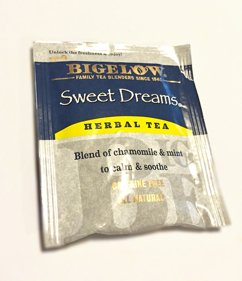 Sweet Dreams herbal tea in Jar of Pampering & Creativity / www.HoneycombOasis.com
