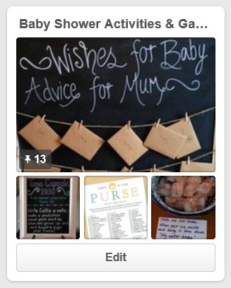 Baby Shower Activities & Games Pinterest Board / My Best DIY Baby Shower Ideas / www.HoneycombOasis.com