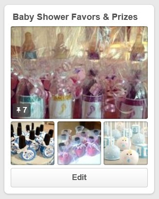 Baby Shower Favors & Prizes Pinterest Board / My Best DIY Baby Shower Ideas / www.HoneycombOasis.com