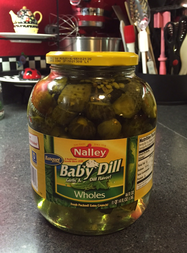 Original jar - Gramma Shelton's Rebrined Pickles - www.HoneycombOasis.com