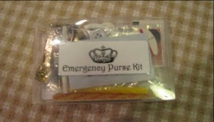 Emergency Purse Kit from 2008 / How to Make an Emergency Purse Kit / www.HoneycombOasis.com