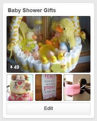 Baby Shower Gifts Pinterest Board / My Best DIY Baby Shower Ideas / www.HoneycombOasis.com
