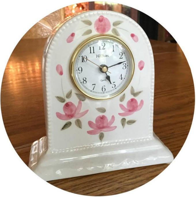 Rose clock / A Dozen Rosey Life Lessons / www.HoneycombOasis.com