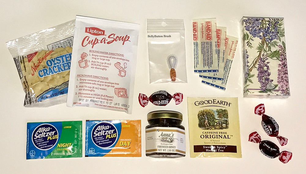 Get Well can contents / Gift-in-a-Can: Themes & Contents (Part 1) / www.HoneycombOasis.com