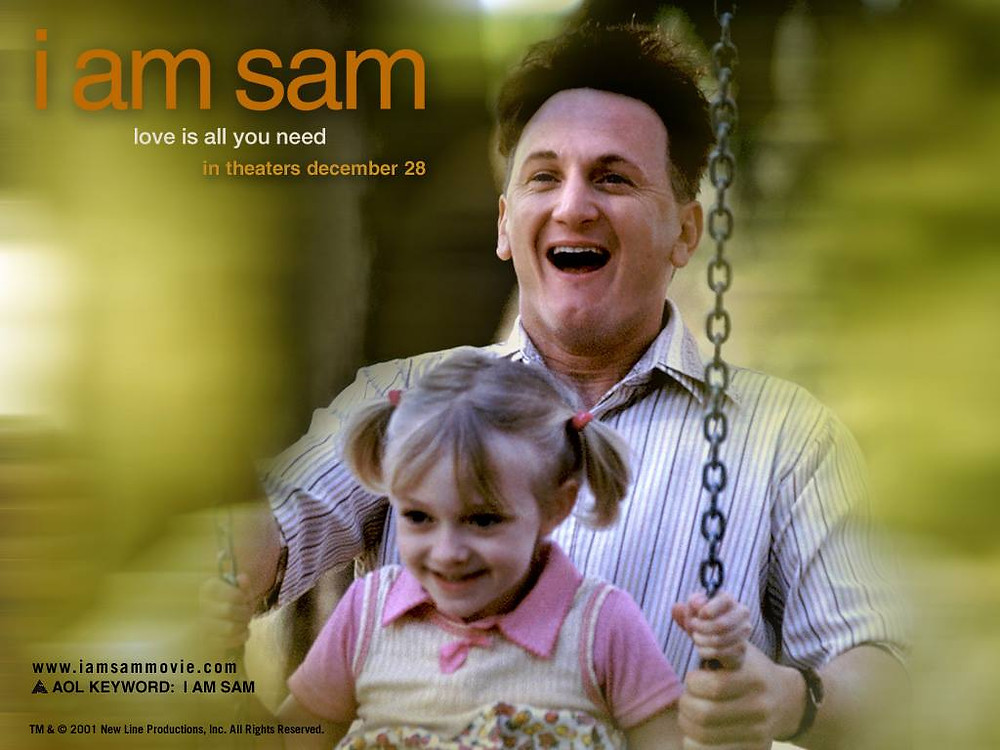 """I Am Sam"" movie poster / 5 More Sayings I'd Love to Eliminate / www.HoneycombOasis.com"