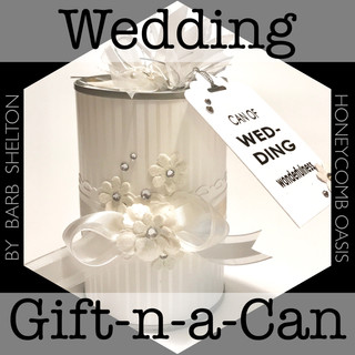 Make a Wedding Gift-in-a-Can