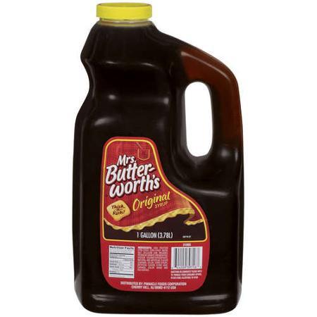 Mrs. Butterworths Maple Syrup / Man Bee Makin' Smoked Fish / www.HoneycombOasis.com