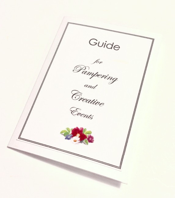 Guide for Pampering & Creative Events / Jar of Pampering & Creativity / www.HoneycombOasis.com