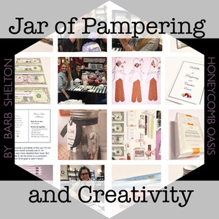 Jar of Pampering & Creativity