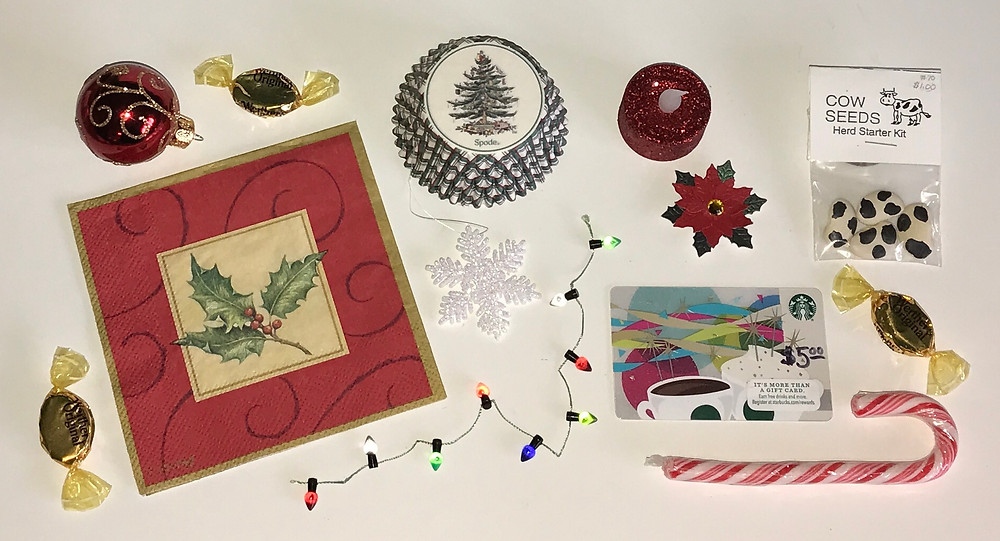 Christmas Can contents / Gift-in-a-Can: Themes & Contents (Part 1) / www.HoneycombOasis.com