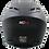 Thumbnail: Casco Moto Ich Integral Certificado 501r Placas Gratis